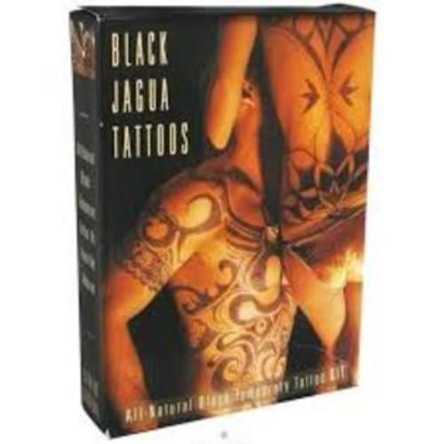 Lakaye Studio Earth Henna Black Jagua Body Painting Kit 1 Kit