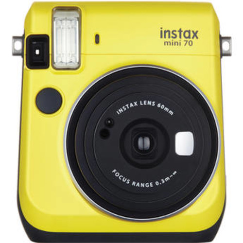 instax mini 70 Instant Film Camera (Canary Yellow)