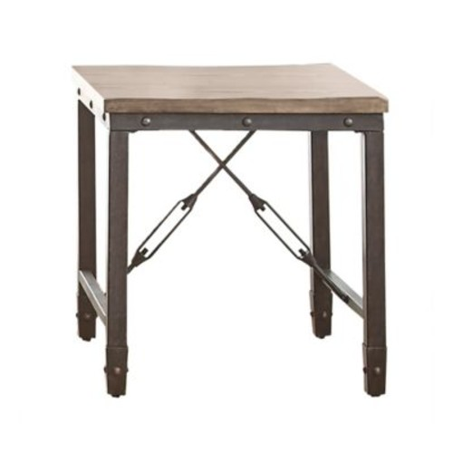 Steve Silver Co. Jersey End Table in Tobacco