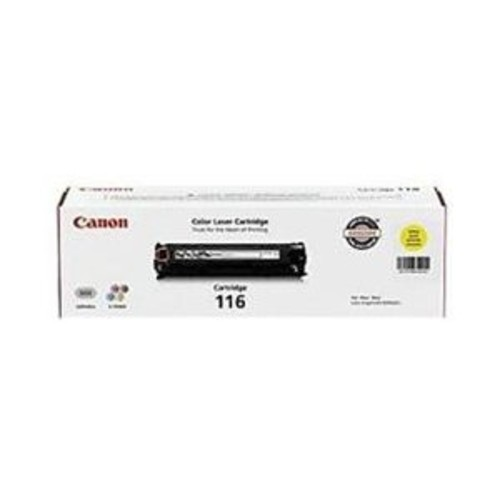 Canon 1977B001AA 116 OEM Toner Cartridge: Yellow Yields 1,500 Pages - CWII-1977B001AA