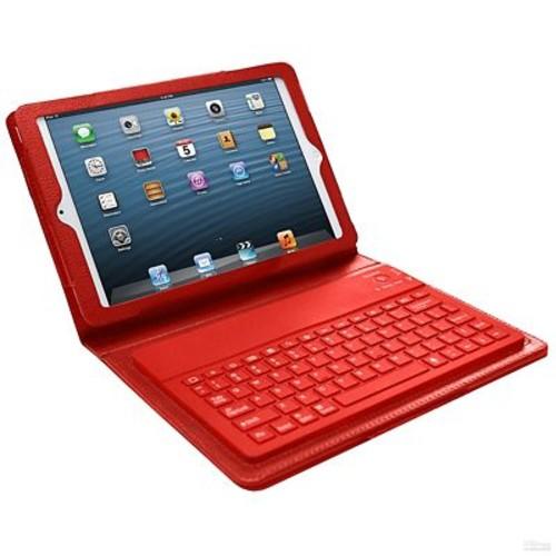 Bluetooth Keyboard Case For iPad Mini, Red
