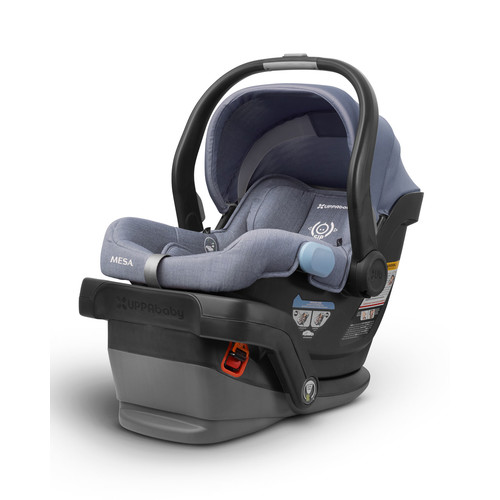 MESA Infant Car Seat w/ Base, Light Blue