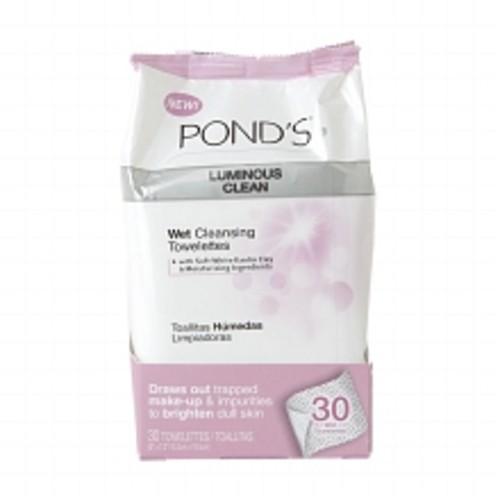 POND'S Moisture Clean Towelettes Luminous Clean