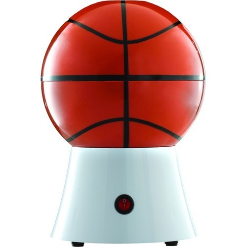 Brentwood - 12-Cup (PC-484) Basketball Popcorn Maker - Brown