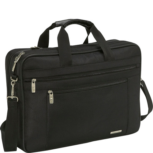 Samsonite Classic Two Gusset Toploader Laptop Briefcase