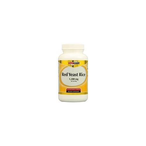 Vitacost Red Yeast Rice -- 1200 mg - 120 Vegetarian Capsules
