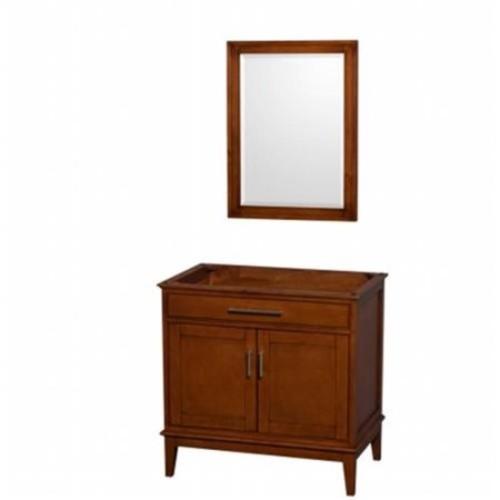 Hatton Collection 36 in Single Bathroom Vanity in Light Chestnut [WCV161636SCLCXSXXM24]