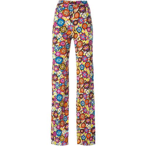 EMILIO PUCCI Floral Print Trousers