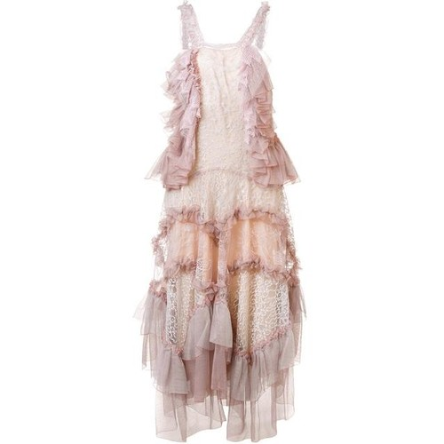 CHLOÉ Embroidered Tiered Dress