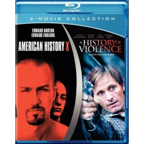 American History X/A History of Violence (Blu-ray)