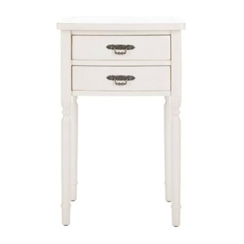 End Table White - Safavieh