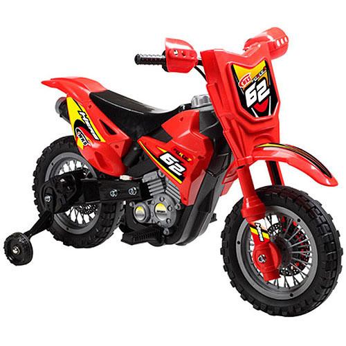 Mini Motos Dirt Bike 6v Red