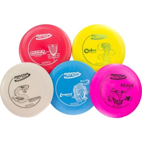 Innova Disc Golf DX 5-Disc Set
