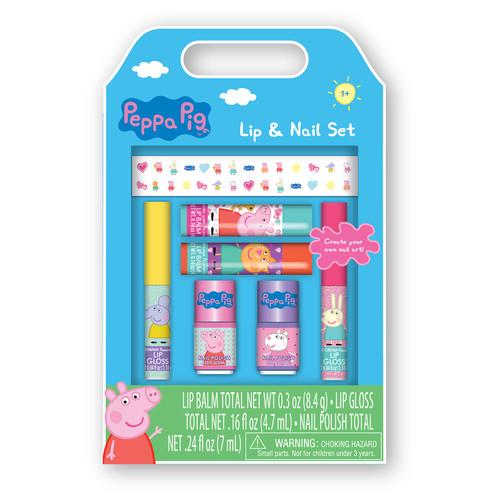 Peppa Pig Nail Polish & Stickers Set