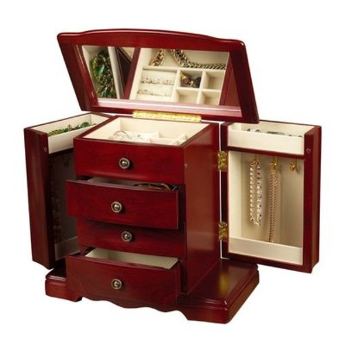 Mele & Co. Harmony Wooden Jewelry Box