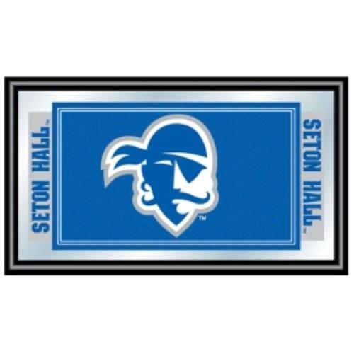 Trademark Games Seton Hall Pirates Framed Team Logo Mirror