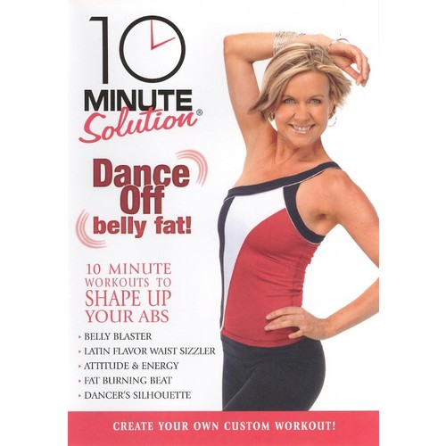 10 Minute Solution: Dance Off Belly Fat [DVD] [2008]