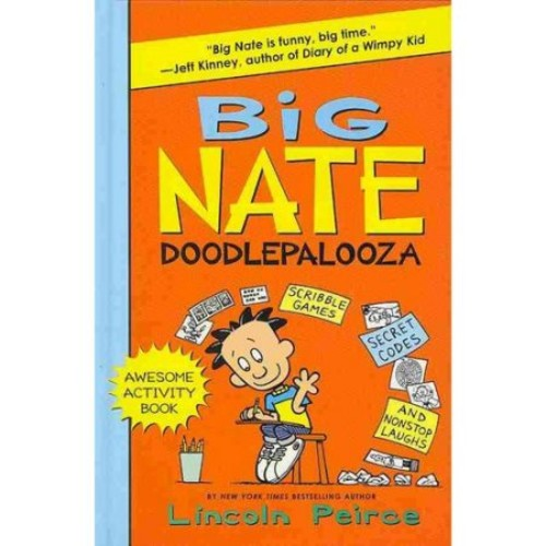 Big Nate Doodlepalooza (Big Nate Activity Book)