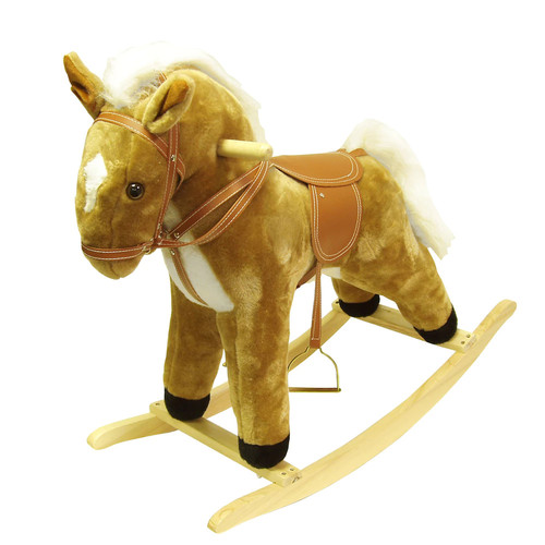 Happy Trails Plush Rocking Horse [Plush Horse]
