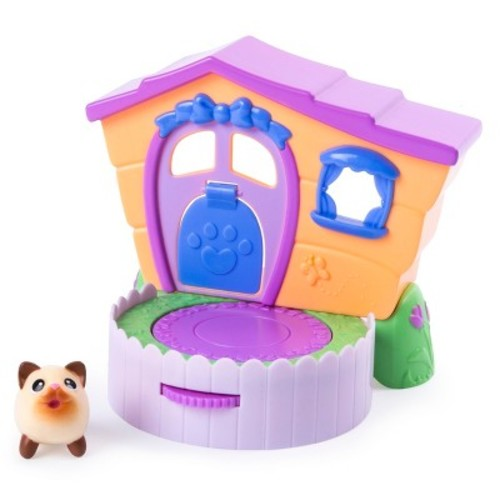 Chubby Puppies and Friends Siamese Kitty Baby 2-in-1 Flip N' Play House Playset