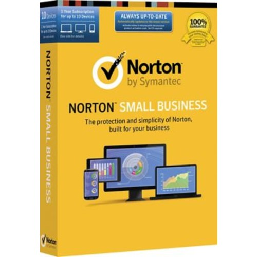 Norton Small Business (1-10 Users) [Product Key Card]