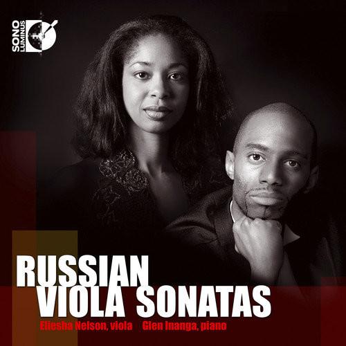 Eliesha Nelson Plays Russian Viola Sonatas - CD