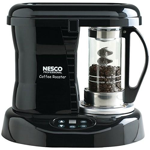 Nesco Coffee Bean Roaster, 800 Watts/120 Volt, Black (CR-1010-PRR)