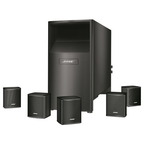 Bose - Acoustimass 6 Series V Home Theater Speaker System - Black