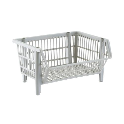 Our Basic Light Grey Stackable Basket