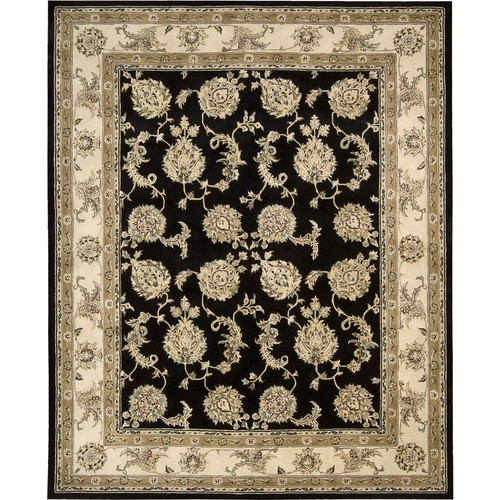 Nourison Silk Touch Collection Sch02 5' X 8' Area Rug