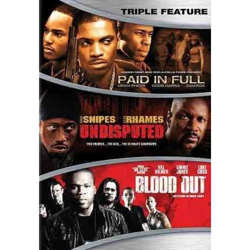 Action Triple Feature (DVD)