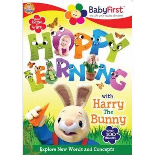 Harry the Bunny-Hoppy Learning! [DVD]