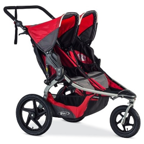 2016 BOB Revolution FLEX Jogging Stroller Duallie - Red