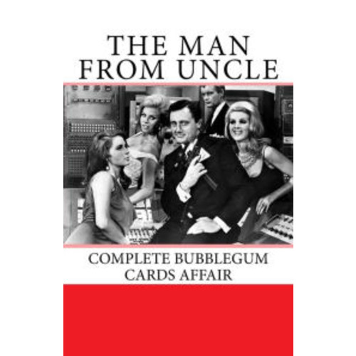 The Man from Uncle Complete Bubblegum Cards Affair