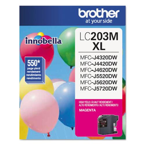 Brother BRTLC203M LC203M Innobella High-Yield Ink, Magenta