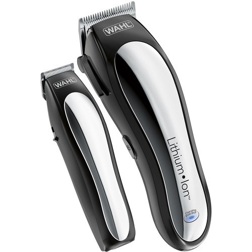Wahl - Lithium Pro Complete Cordless Haircut Kit - Black/Silver