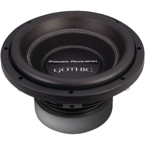 POWER ACOUSTIK GW3-10 GOTHIC SERIES 2OHM DUAL VOICE-COIL SUBWOOFER (10