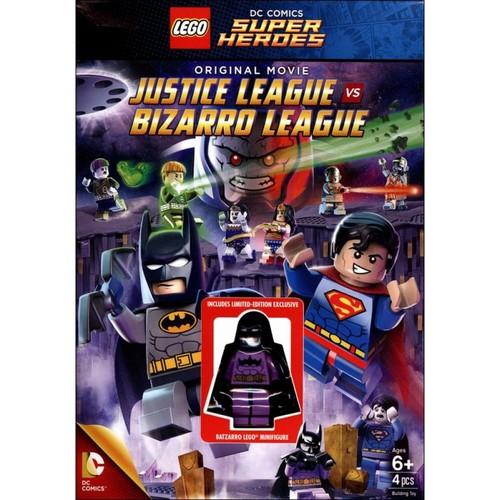 LEGO DC Comics Super Heroes: Justice League vs. Bizarro League [Figure] [DVD] [2015]