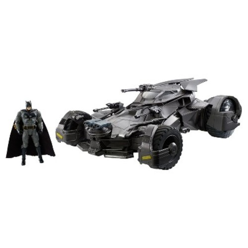 DC Justice League Ultimate Batmobile RC Vehicle and Figure