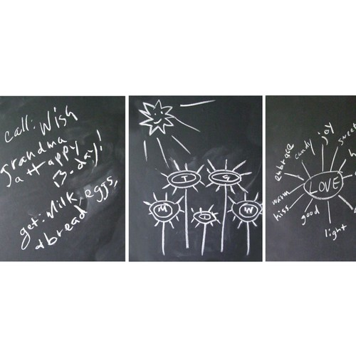 Flat Pack Chalkboard Decal
