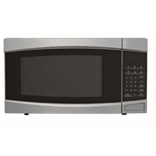 RCA 1.4 cu. ft. Countertop Microwave in Stainless Steel