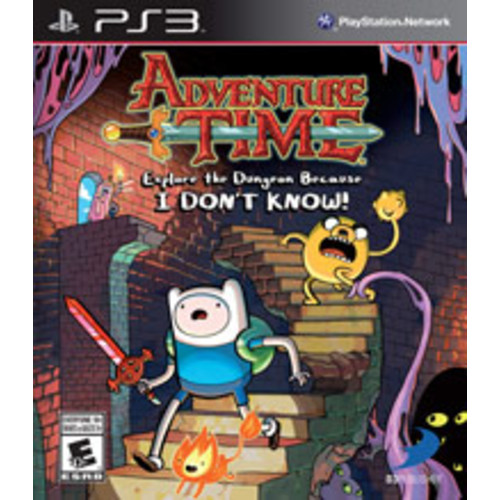 Adventure Time: Explore the Dungeon Because I DON'T KNOW! [Pre-Owned]