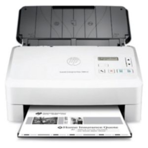 HP ScanJet Enterprise Flow 7000 s3 Sheet-feed Scanner  600dpi, 75ppm Color Scan Speed, 150ipm Color Scan Speed, Duplex Scanning, 80 Sheets ADF Capacity - L2757A#BGJ