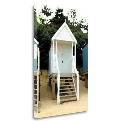 Tangletown Fine Art 'Beach Hut I' Photographic Print on Wrapped Canvas; 34'' H x 23'' W