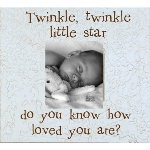 Twinkle Twinkle Little Star 8 x 10 Tabletop Picture Frame