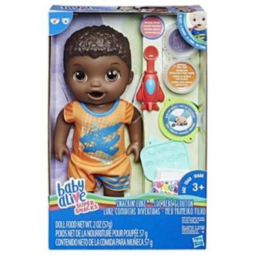 Hasbro Baby Alive Super Snacks Snackin' Luke Baby Doll