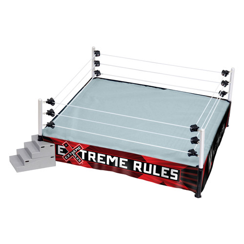 WWE Ring Skirt (Extreme Rules) Ringside Exclusive - Toy Wrestling Action Figure Playset Accessory