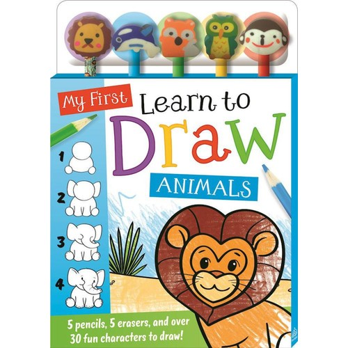 My First Learn to Draw Animals Book