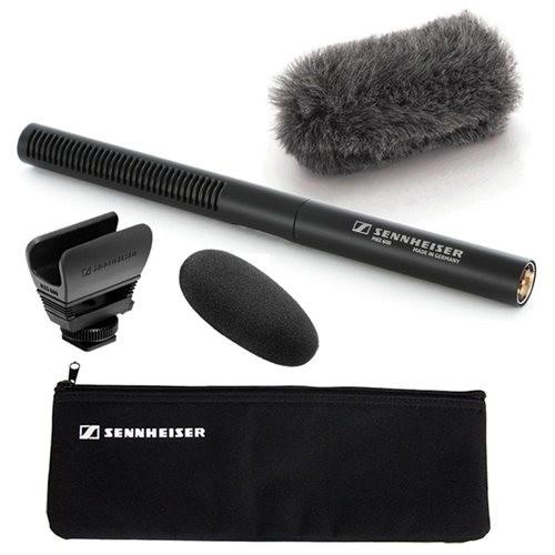 Sennheiser MKE 600 Microphone - 40 Hz to 20 kHz - Wired - Shotgun - XLR