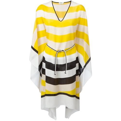 FENDI Waves Kaftan Dress